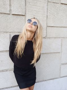 10.17.14 Loving our 901 girl Sahara Ray's fierce blonde locks by our very own 901 artist Shaylee Blatz #ninezeroone #901girl #westbournewall #westbournewallgirl