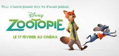 Zootopie Film Animation de Byron Howard, Rich Moore. Une ville qui ne ressemble à aucune autre, seuls les animaux y vivent, Judy doit faire équipe à Nick.