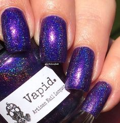 Vapid Lacquer - Something Wicked - Hella Holo Customs ( HHC ) -September 2015