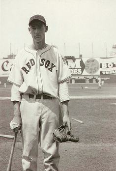 Ted Williams, Boston Red Sox, 1939 - his rookie season.  Few men ever had a swagger of this kid.  Did I mention he was a combat fighter pilot in 2 wars (and Chuck Yeagars wingman in the second of those wars)  ~dusty~