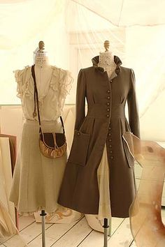 Victorian Style coat. Yeah, I'm pretty sure I'd kill in order to have it.