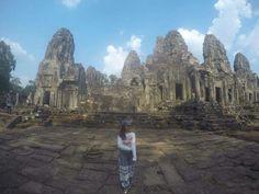 Angkor tom in Cambodia