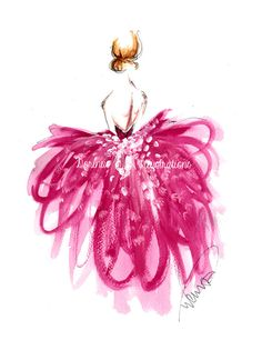 Princess art Fashion illustration Fashion by DorinusIllustrations