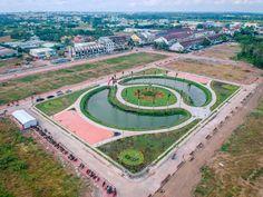 Khánh thành công viên trung tâm Khu dân cư Minh Châu (Vạn Phát Avenue) Baseball Field