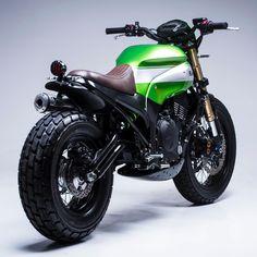 'Urban X' Kawasaki Ninja 650 – Smoked Garage: Scrambler Custom, Scrambler Motorcycle, Moto Bike, Honda Scrambler, Motorcycle Tips, Custom Baggers, Motorcycle Quotes, Yamaha, Kawasaki Ninja 600