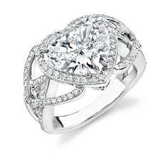 Engagement Ring Cut: Heart