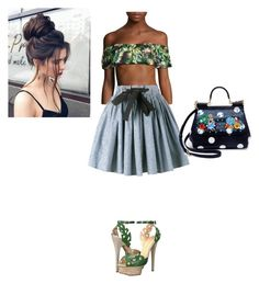 """Untitled #109"" by denee-davis on Polyvore featuring Lucky Brand, Miu Miu, Charlotte Olympia and Dolce&Gabbana"
