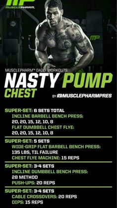 best ways to Keep The Huge 3 Lifts From Jacking You Up Nasty pump workout. High rep range designed to keep a person lean. High rep range designed to keep a person lean. Chest Workouts, Gym Workouts, Treadmill Exercises, Chest Mass Workout, Arnold Chest Workout, Workouts For Men, Lifting Workouts, Triceps Workout, Workout Routines