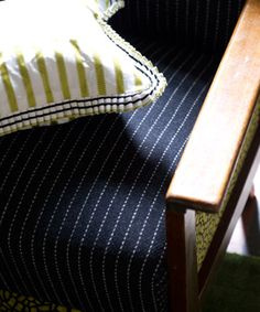 Designers Guild - Cheviot : Nothing wrong with a pinstripe!