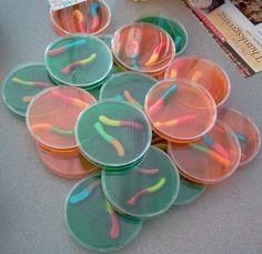 Perfect petri dish treats for a Halloween Mad Science Spooktacular! Scholastic.com
