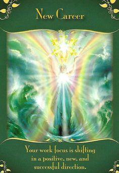 Angel Guidance, Spiritual Guidance, Spiritual Eyes, Le Reiki, Oracle Tarot, Angel Cards, New Career, Career Path, Spirit Guides