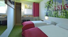 Zweibettzimmer im B&B Hotel Ingolstadt