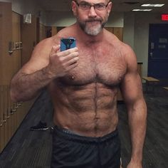 ~Adult Content - If you have copyrights on any media I post, contact me, and it will be removed Almost 50 or older, but still hot and thriving! Muscle Bear Men, Muscle Boy, Grey Hair Men, Gray Hair, Husband Best Friend, Silver Foxes, Hairy Chest, Mature Men, Older Men