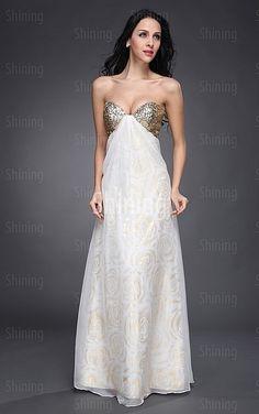 Multi Colours A-line Floor-length Sweetheart Dress
