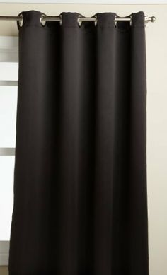 Lorraine Home Fashions Carnivale 53-inch x 84-inch Blackout Panel, Black by Lorraine Home Fashions. $27.31. Fabric content: 100-percent polyester. Measures 53-inch x 84-inch. Measures 53-Inch by 84-Inch. Machine wash, warm water, gentle cycle; do not bleach; line dry; warm iron if necessary;. Reduced energy costs, reduced noise, ensured privacy and a peaceful sleep day or night are all benefits of this heavy weight, room darkening, insulating grommet top triple weave...