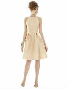 ALFRED SUNG BRIDESMAID DRESSES: ALFRED SUNG D696