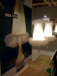 tutu + lamp = IkeaPS2012