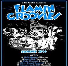 Que vienen los FLAMIN GROOVIES!!!! - Gira abril 2016 | ESPACIO WOODY/JAGGER http://www.woodyjagger.com/2016/04/que-vienen-los-flamin-groovies-gira.html