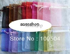 Wholesale cheap organza bag online, zhejiang, china (Mainland) - Find best free shipping 100pcs 7x9 cm mix color nice chinese voile christmas / wedding gift bag organza bags jewelry gift pouch at discount prices from Chinese jewelry pouches, bags supplier on DHgate.com.