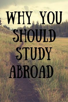 Are you on the fence about studying abroad? Read here on why you SHOULD study abroad!