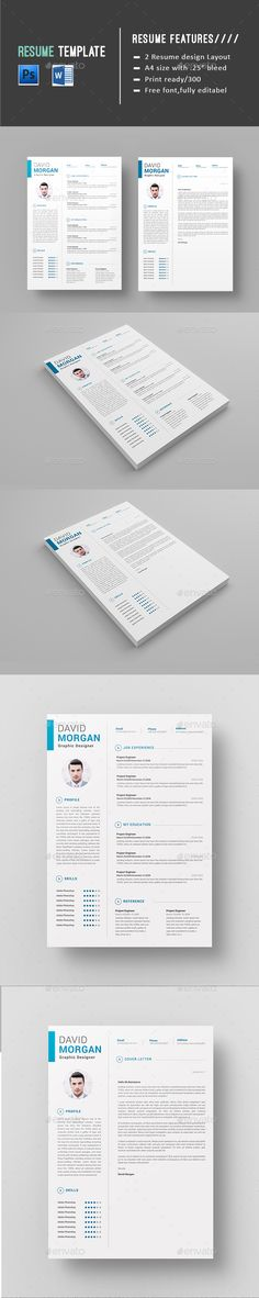Resume CV Resume cv, Cv ideas and Simple resume template - professional resume fonts