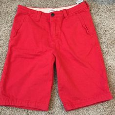 Abercrombie kids shorts Red size 16 brand new with tags Abercrombie boys shorts from smoke free home Abercrombie Shorts