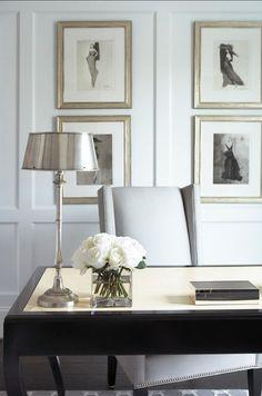 { elegant home office }