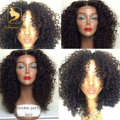 7A Deep Curly Full Lace Human Hair Wigs For Black Women Glueles Lace Front Wigs With Baby Hair Brazilian Virgin Full Lace Wigs