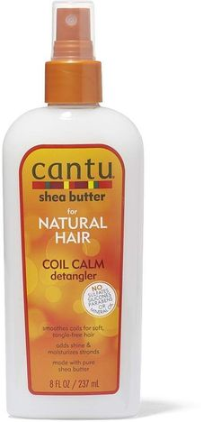 Cantu Natural Coil Calm Detangler smooths coils for soft, tangle-free hair. Adds shine and moisturizes strands. Underarm Hair Removal, Facial Hair Removal Cream, Electrolysis Hair Removal, Hair Removal Spray, At Home Hair Removal, Permanent Facial Hair Removal, Remove Unwanted Facial Hair, Unwanted Hair, Cantu Shea Butter For Natural Hair