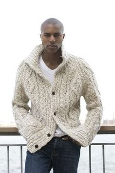 Manly Men Wear Crochet Sweaters: 10 Free Patterns! - cheap mens clothing, tall mens clothing, style clothing mens