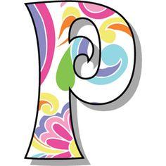 Buchstabe - Letter P