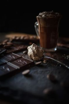 This chocolate week takes me back to my indulgence and secret pleasure: Chocolate. Chocolate is a lot more than food. Chocolate Dreams, I Love Chocolate, Chocolate Heaven, Chocolate Coffee, Chocolate Lovers, Melted Chocolate, Chocolate Chips, Chocolate Brown, Dark Food Photography