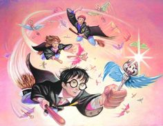 The Flying Keys by Mark Braught Harry Potter Art, Geek Stuff, Star Wars, Fan Art, Illustration, Artwork, Artist, Anime, Puppet