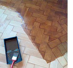How to restore parquet floors