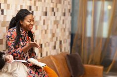 Busola Evans at the Interior Trends 2018 talk at The Boutique Workplace Company #rockettstgeorge #interior #interiors #trends #talk #london #company #trend #home #homeware #house #inspiration