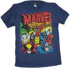 Super Hero shirts at OldSchoolTees.com
