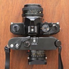 Pentax MX vs. Leica m6 Almost the same size
