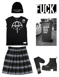 """""""idk"""" by brokenpinkypromises ❤ liked on Polyvore featuring French Toast, Windsor Smith, women's clothing, women, female, woman, misses and juniors"""