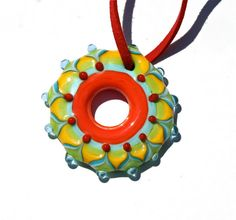 Mandala necklace....love it!