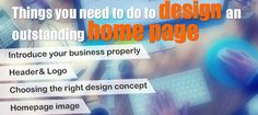 Looking for How to design an excellent hompage? Then check out here the secrets to design innovative homepage.