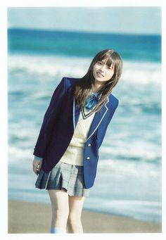 Model : Saito Asuka from Fanpage : Saito Asuka Thailand Fanpage Cute School Uniforms, School Uniform Girls, Girls Uniforms, School Girl Japan, Japan Girl, Asian Photography, Japanese School Uniform, Cute Girl Dresses, Beauty Shots