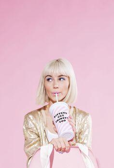 kittens get thirsty too | ban.do sip sip tumbler
