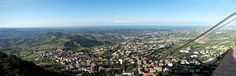 "View from San Marino - ""San Marino and Emilia Romagna – A Journey in Italy's Hidden Treasures"" by @thinkingnomads"