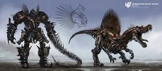 What the Dinobots Almost Looked Like in 'Transformers: Age of Extinction' | Fandango
