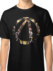 Borderlands - Characters and Vault Classic T-Shirt
