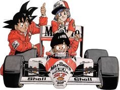 Senna's McLaren Was Once Sponsored By Dragon Ball Z