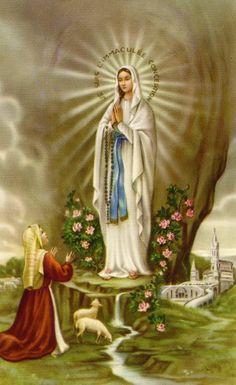 Saint Bernadette Soubirous - Our Lady of Lourdes