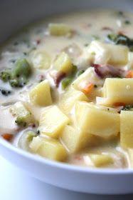 Tilly's Nest: Fully Loaded Baked Potato Soup