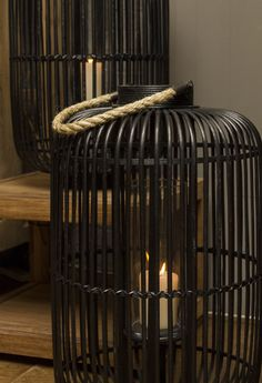 Wicker Candle Hurricanes Radiators, Wicker, Archive, Home Appliances, Candles, Decoration, Inspiration, Collection, Black