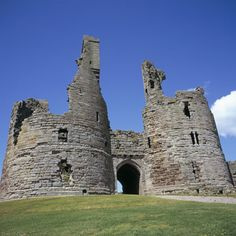 Dunstanburgh Castle, Northumberland, England: There are fancier ruins, but the melodrama of its clifftop perch is potent.  The grandest castle in Northumberland, it was started in 1313 by the Earl of Lancaster who was nine years into his fantasy when he was executed.   Credit: Geoff Renner/Jupiter Images Dunstanburgh Castle, Northumberland